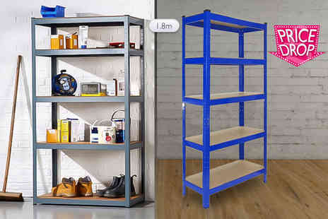Mscomputers - Five tier heavy duty racking unit - Save 89%