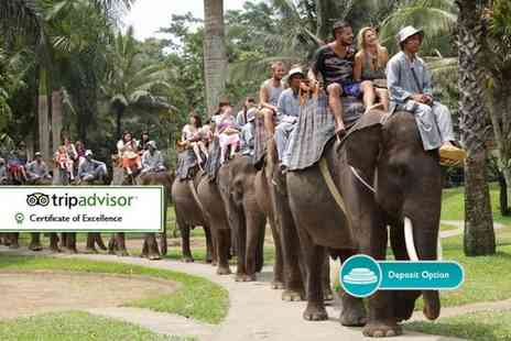 THG Holidays - 10 Day Bali escape with Elephant Safari Lodge stay, tours, selected meals and flights - Save 0%