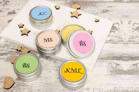 Shop Sharks - Personalised lip balm choose from five colours - Save 70%