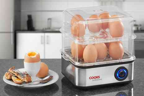 Groupon Goods Global GmbH - Cooks Professional Two Tier Egg Boiler - Save 54%