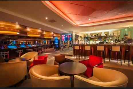 Genting Casino Edgbaston - Two Course Dinner and £5 Worth of Casino Chips for Two or Four - Save 54%
