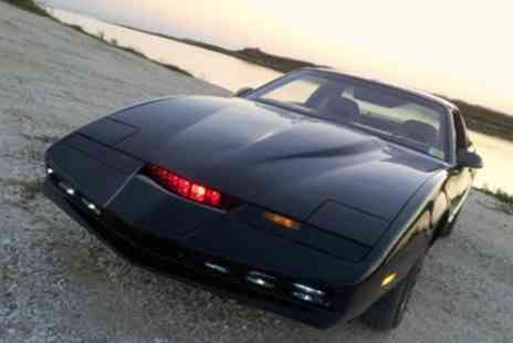 Car Chase Heroes - Three, Six or Nine Laps in Kitt from Knightrider Pontiac Firebird - Save 71%