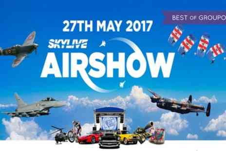 Skylive Airshow - General or VIP Ticket to SkyLive Airshow on 27 May - Save 0%