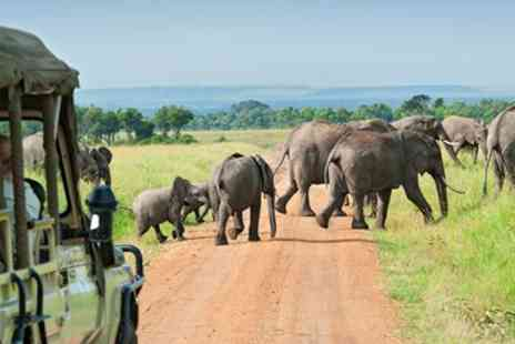Hays Travel - Escorted Safari & Beach Escape with Flights - Save 0%