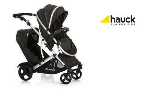 Precious Little One - Hauk Duett Two tandem stroller and rain cover - Save 25%