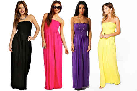 Be Jealous - Strapless maxi dress choose from 11 colours - Save 66%
