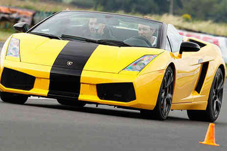 Experience Limits - Three lap Lamborghini driving experience - Save 74%