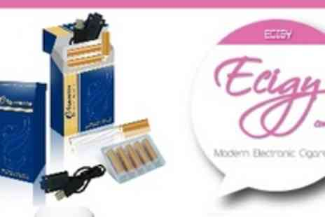 Ecig - £19 for Award-Winning Electronic Cigarette Starter Pack from Ecig (£48 value) - Save 61%