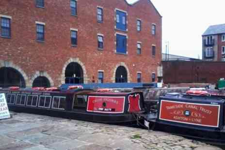 Tameside Canal Boat Trust - Canal Narrowboat Trip for Two or a Family of Four - Save 38%