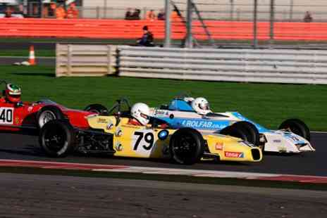 Silverstone - Historic Sports Car Club Championship with VIP Hospitality Suite and Pit  Access - Save 48%