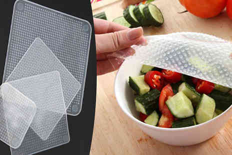 Pearl Info - Reusable Silicone Food Covers - Save 88%