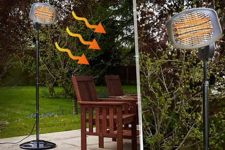Groundlevel - Freestanding Patio Heater - Save 65%