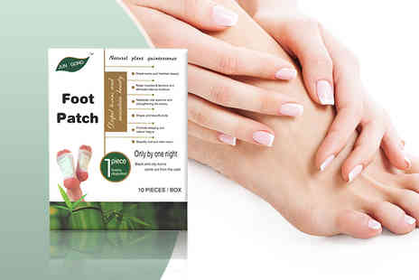Seatedtoad - Box of detox foot patches - Save 77%