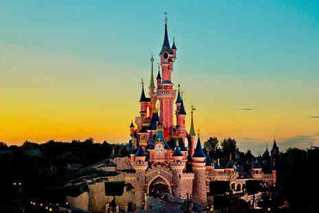 Tour Center - Two, three or four night Disneyland Paris stay with flights and one day two park entry - Save 43%