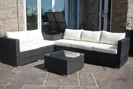 Envisage Home - Lotus eight seater rattan sofa set - Save 54%