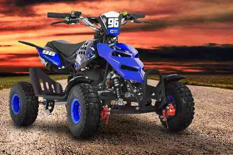 Fun bikes - Kids 49cc quad bike choose from six colours - Save 0%