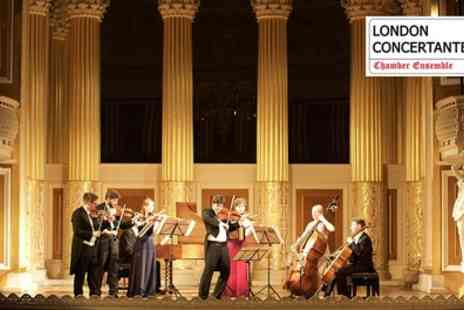 Candlelight Concerts - Bach Violin Concertos Ticket by Candlelight on 16 June - Save 44%