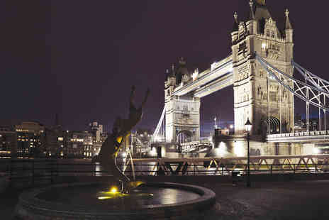 The Tower Hotel - Four Star Riverside Hotel Stay For Two With Iconic Tower Bridge View - Save 78%