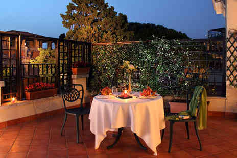 Hotel Degli Aranci - Four Star Exclusive Location Stay For Two by Villa Glori Park - Save 79%
