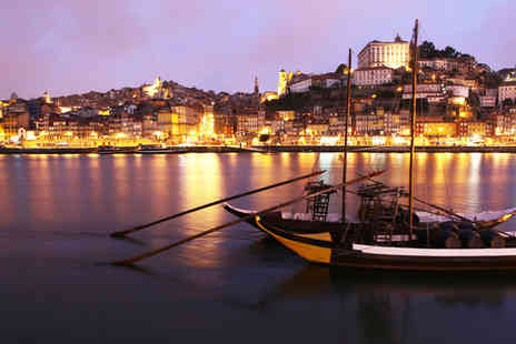Holiday Inn Porto Gaia - Four Star Romantic Riverside Stay For Two - Save 60%