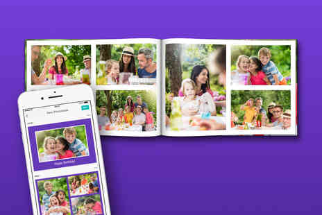 Popsa International - A5 or A4 printed hardback photobook - Save 75%