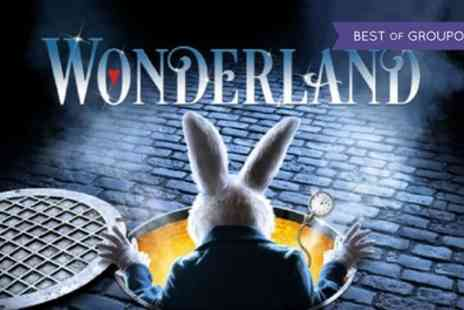 ATG Tickets - Wonderland The Musical Tickets on 2 June to 12 August 2017 - Save 51%