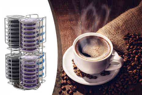 Home Empire - Rotating 52 Tassimo coffee pod holder - Save 70%