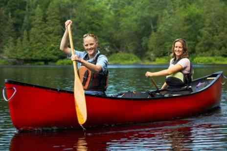 Haven Banks - Half Day Canoe Hire for Up to Two Adults and One Child - Save 0%