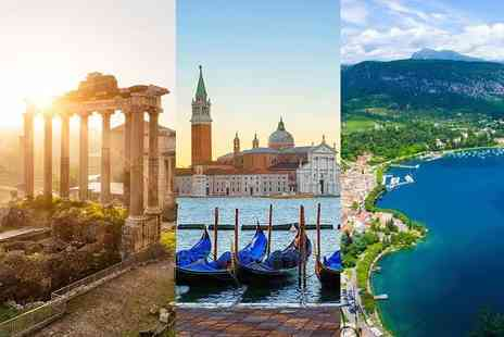 Crystal Travel - Four night Italy escape with breakfast, flights and train transfers - Save 22%