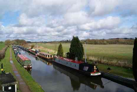 Norbury Wharf - Canal cruise on The Shropshire Star for one, two or family of four - Save 53%