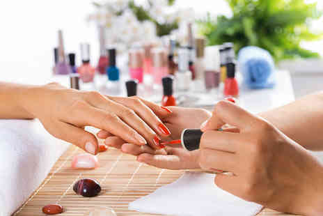 Pour Vous Beauty Boutique - Semilac manicure and hand massage - Save 0%