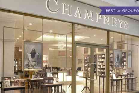Champneys City Spas - Choice of Two 25 Minute Treatments or One 55 Minute Treatment - Save 44%