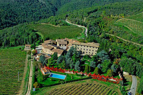 Agroturismo Borgo Castelvecchi - Historic Farmhouse Surrounded by Vineyards For Two - Save 73%