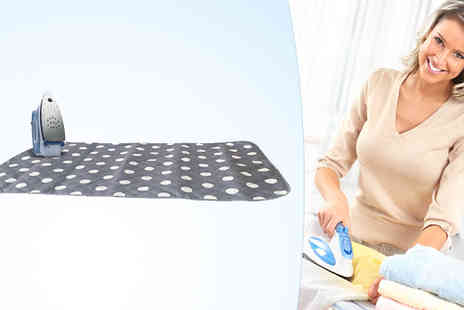 A2BShopping - Ironing Board Travel Mat Cover For Table Top - Save 47%