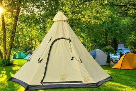 MC California - Six person tepee tent - Save 78%