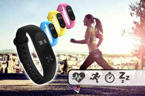 Toy Meets World - An eight in one fitness bracelet with heart rate monitor functions and more - Save 84%