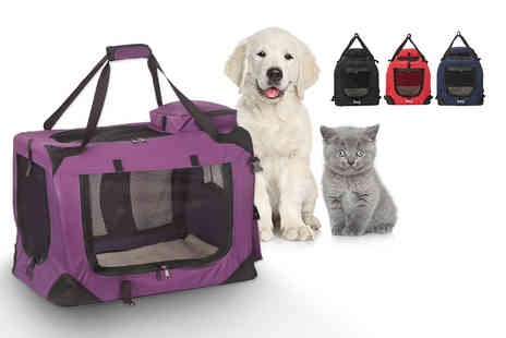 LaRoc - Fabric pet carrier choose from four colours - Save 16%