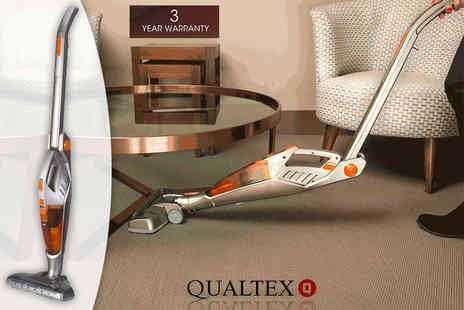 Qualtex UK - 2 in 1 cordless folding vacuum cleaner, with a limited number available - Save 67%