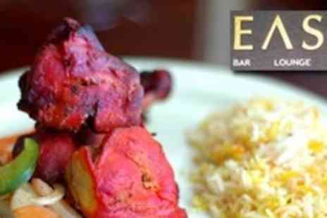 East Bar Lounge Grill - Two Courses of Indian Cuisine For Four - Save 70%