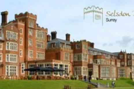 Selsdon Park and Golf Club - One Night Stay For Two With Golf or Spa Treatment, Prosecco - Save 54%