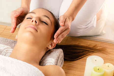 Reiki Relaxation and Holistic Massage - 90 minute pamper package including arm, leg and facial massage infused - Save 78%