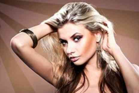 Hair Candy - Full Head Highlights or Full Head Colour With Cut and Finish - Save 68%
