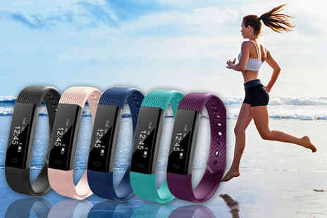 Tomllo - 14 in 1 wireless fitness tracker bracelet get active - Save 85%