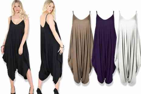 Be Jealous - Baggy harem jumpsuit choose from 12 colours - Save 69%