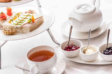 The Grimscote Manor Hotel - Afternoon tea for 2 - Save 33%