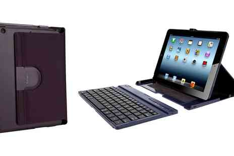 Groupon Goods Global GmbH - Targus Versavu Bluetooth Keyboard Case with Stand for iPad Air - Save 67%
