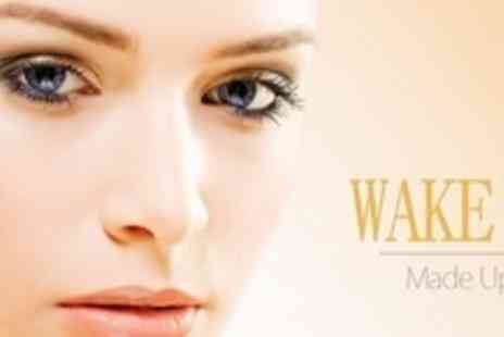 Wake Up Made Up - Semi-Permanent Eyebrow or Eyeliner Make-Up - Save 67%