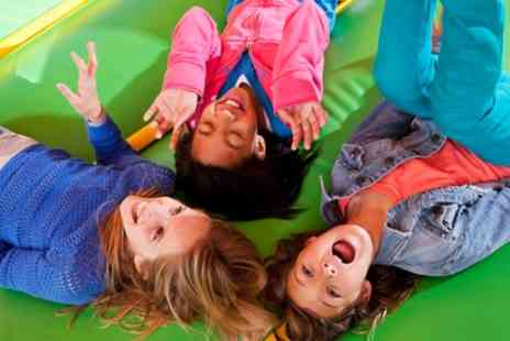Tree Tops Soft Play - Soft Play Family Entry for Two or Four Children Plus Two Adults - Save 50%
