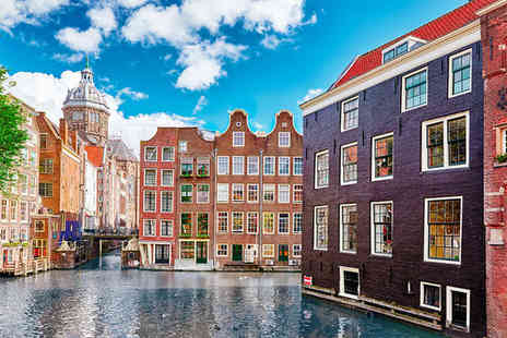 Hotel Amsterdam De Roode Leeuw - Four Star Historic Hotel Stay For Two in City Centre - Save 74%