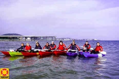 Colwyn Bay Watersports Centre - Half day kayaking session for two - Save 52%